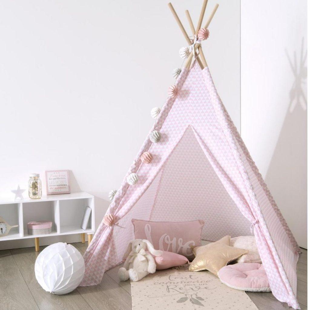 Rózsaszín indián sátor, tipi