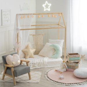 Házikó pihenőhely keret