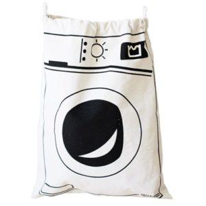 Tároló zsák mosógép mintával