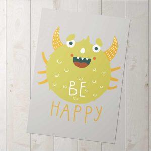 be happy poszter