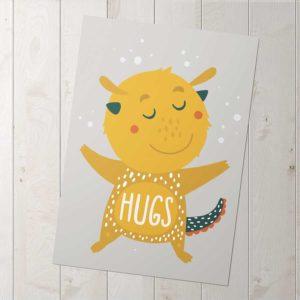 big hugs poszter