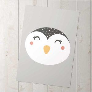 pingvin poszter